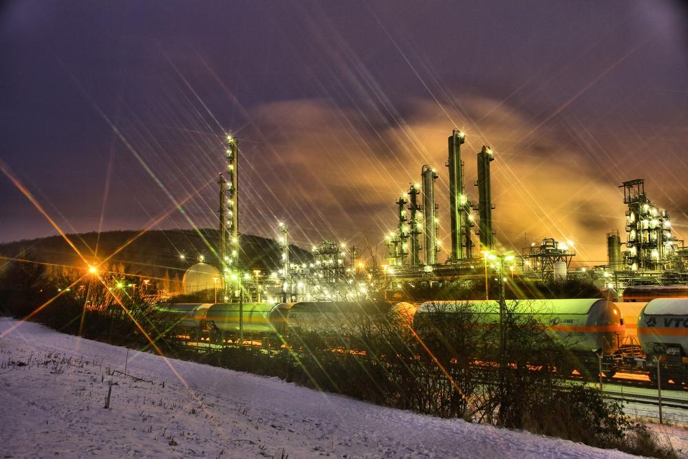 Chemiewerk Sasol in Moers