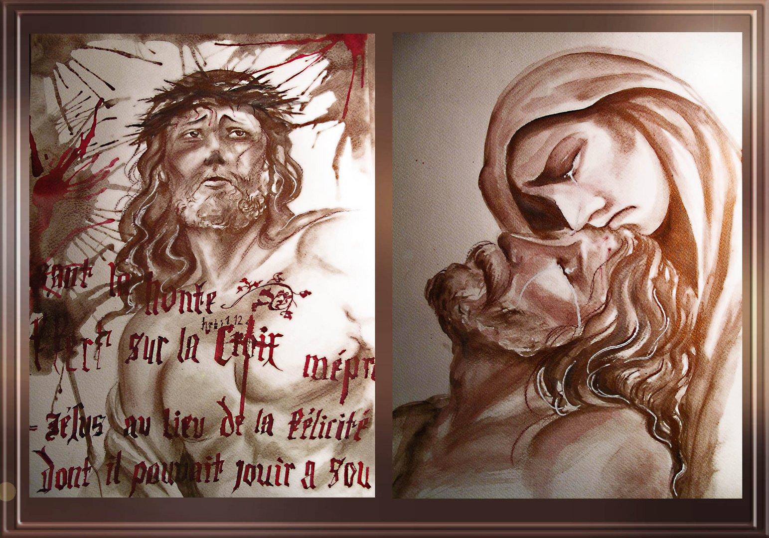 Chemin de croix et Piéta...