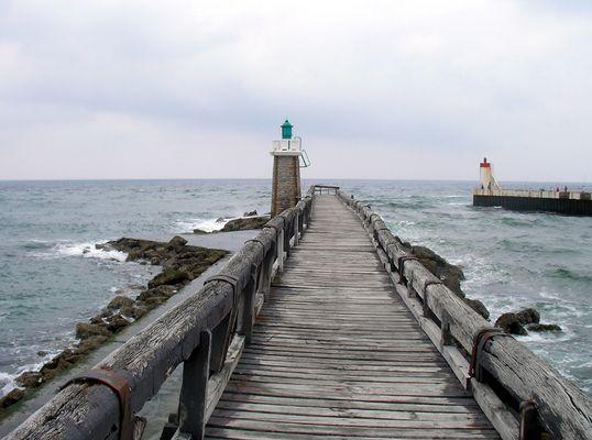 Chemin vers la mer...