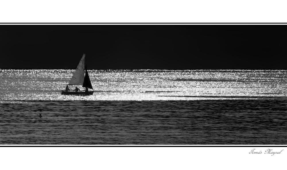 Chemins dans Le Mer