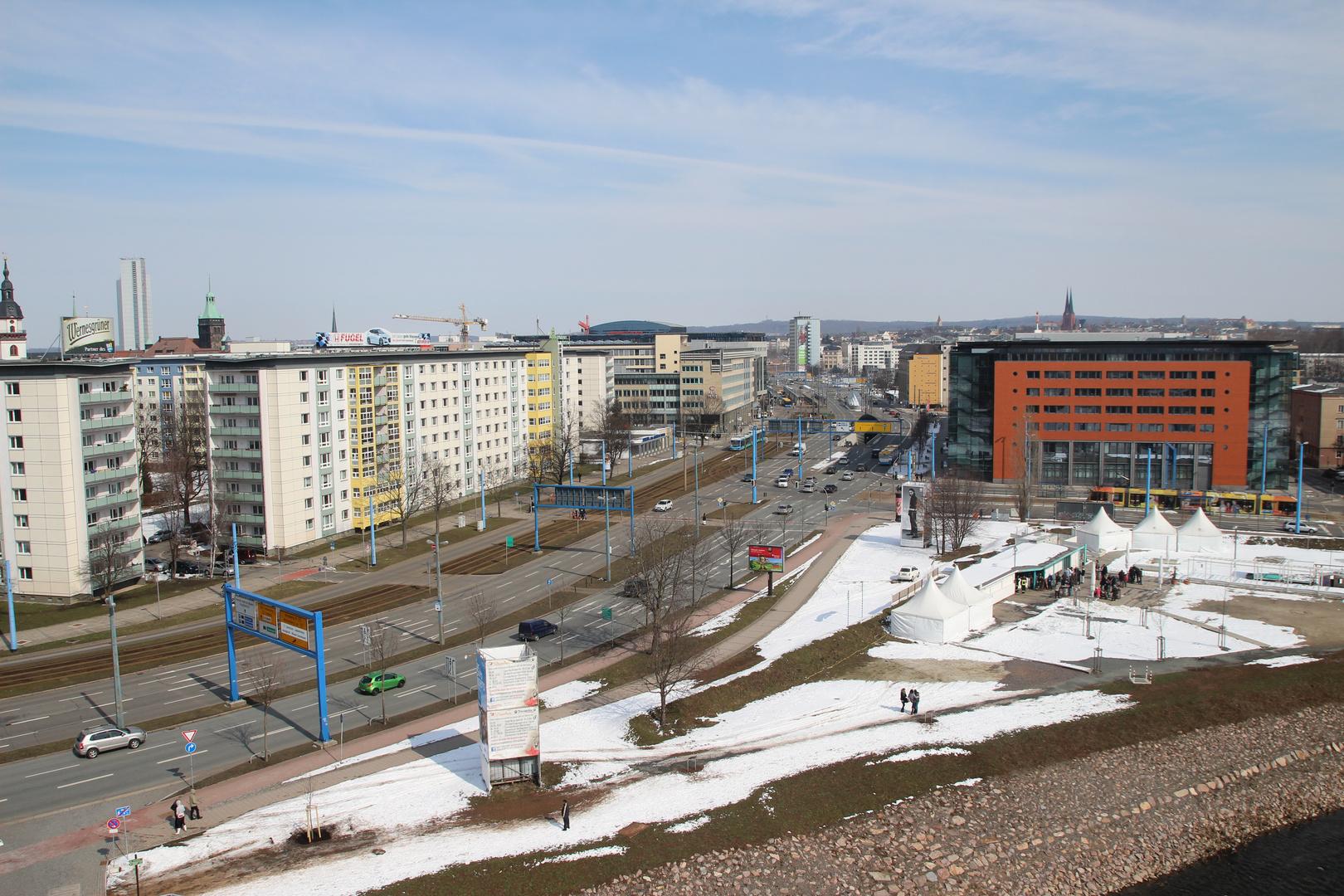 Chemnitz aus der Luft