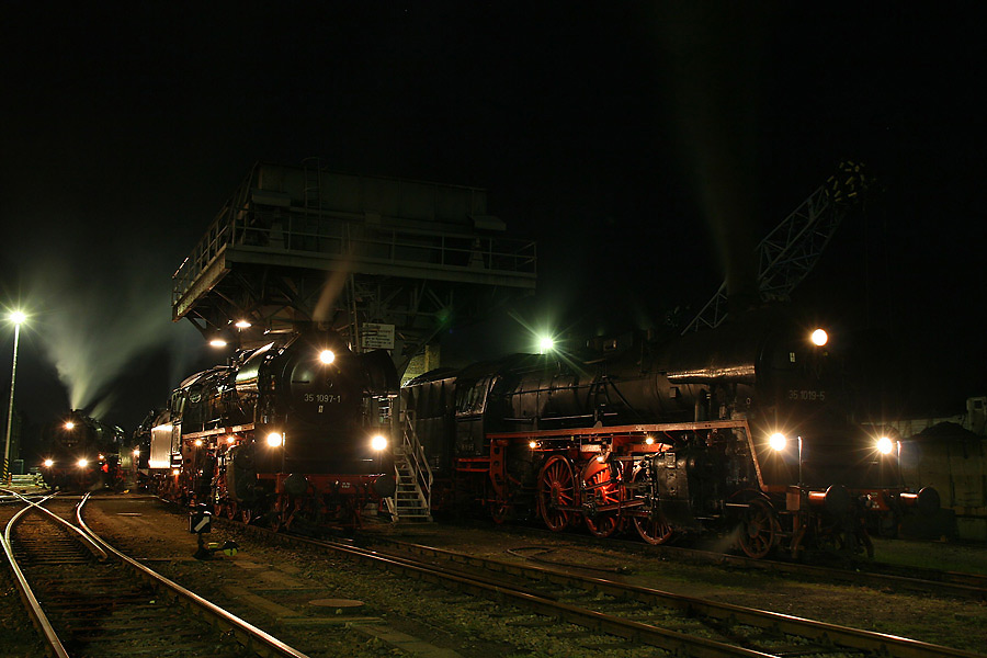 Chemnitz Hilbersdorf am Abend