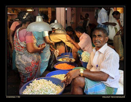 Chennai Flower Market IV, Chennai, Tamil Nadu / IN