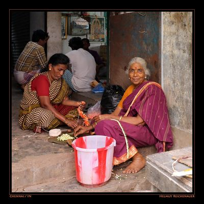 Chennai Flower Market VI, Chennai, Tamil Nadu / IN