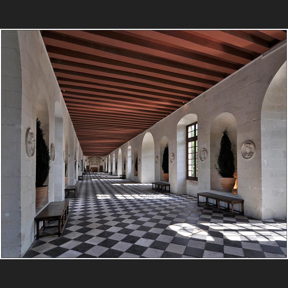 Chenonceau – Die Galerie