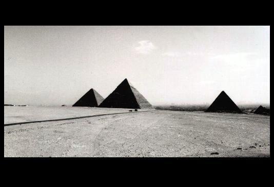 Cheops~ Chefren~ und Mykerinos ~Pyramide