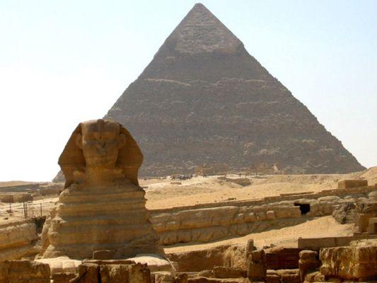 Cheops-Pyramide/Sphinx - Version 2