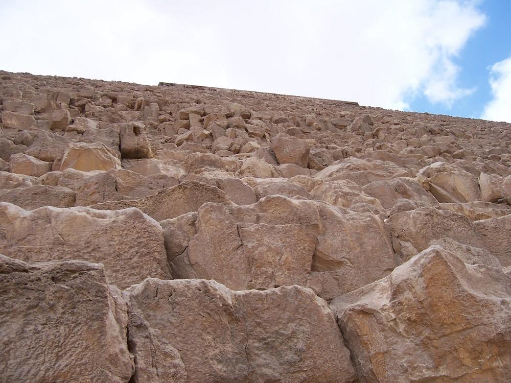 Chephren - Pyramide einmal ganz nah