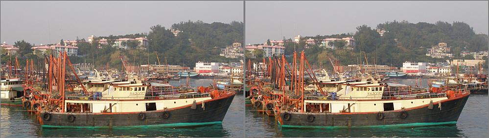 Cheung Chau Fischerhafen