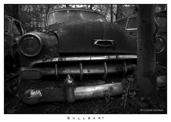 Chevrolet abandonnée