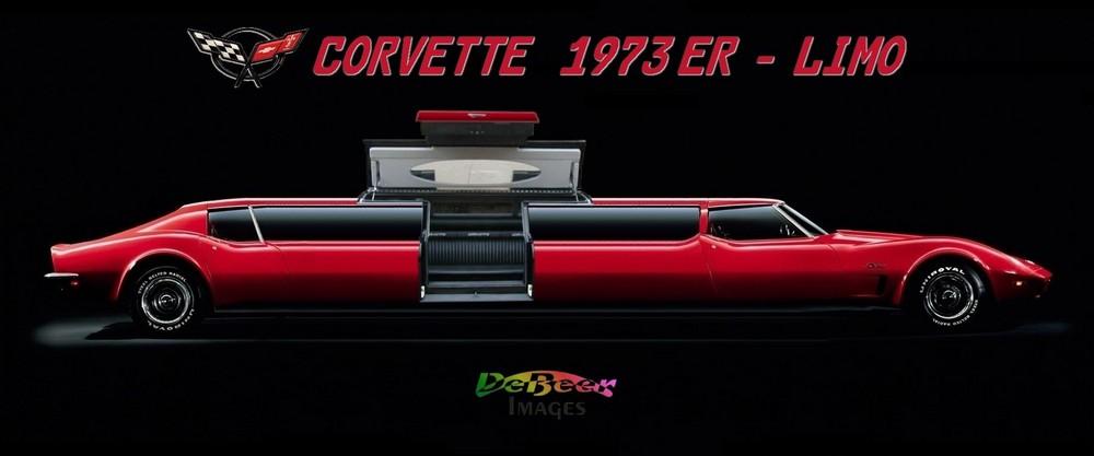 Chevrolet Corvette 1973er Limo