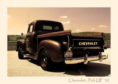 Chevrolet Pick-Up ´52