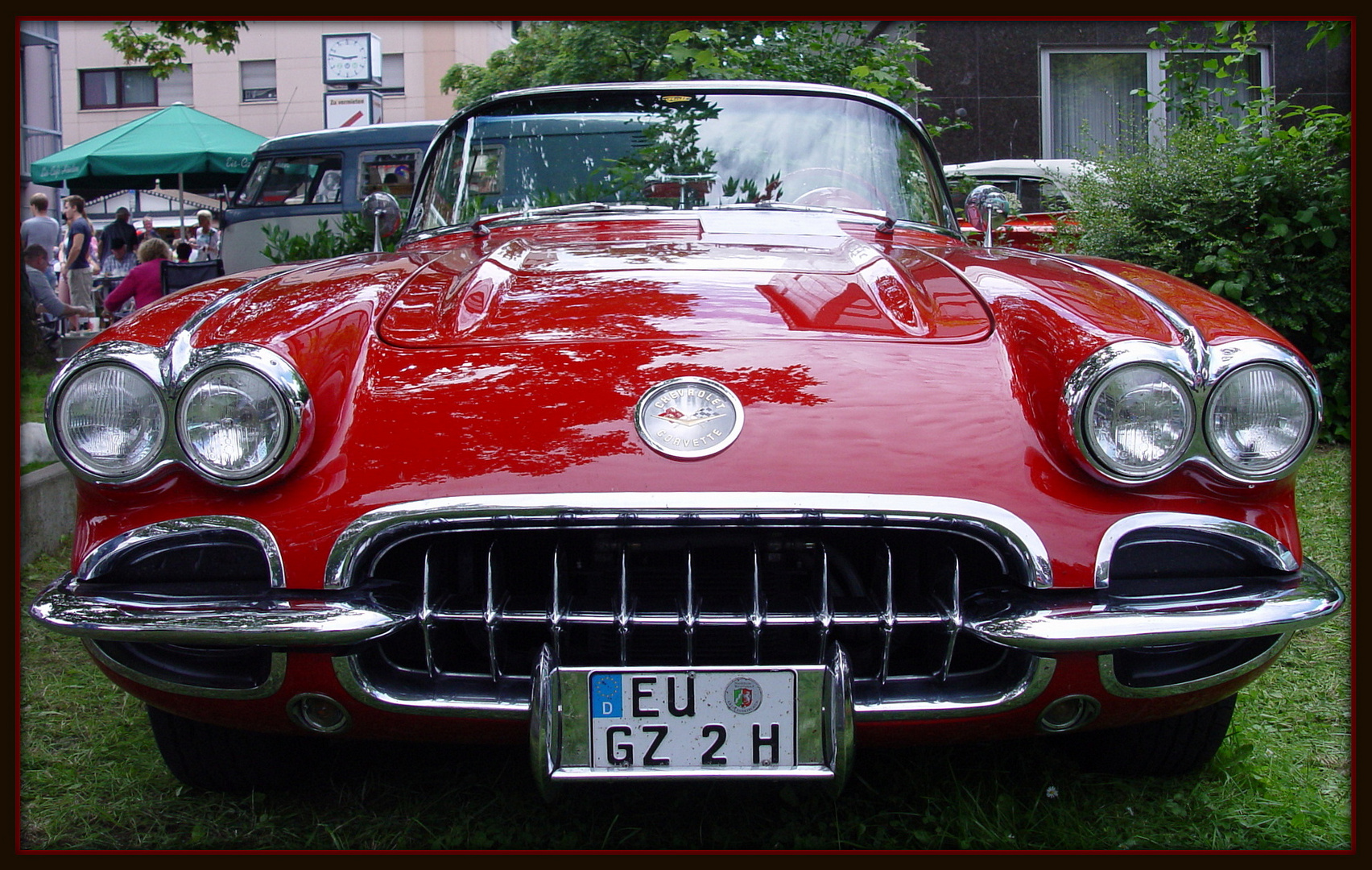 Chevrolett Corvette in Red