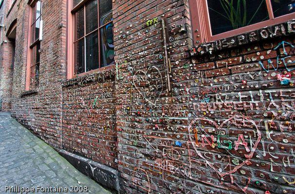 Chewing-gun wall Seattle
