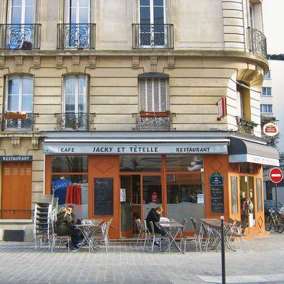 Chez Jacky et Tételle rue Didot Paris XIV arr