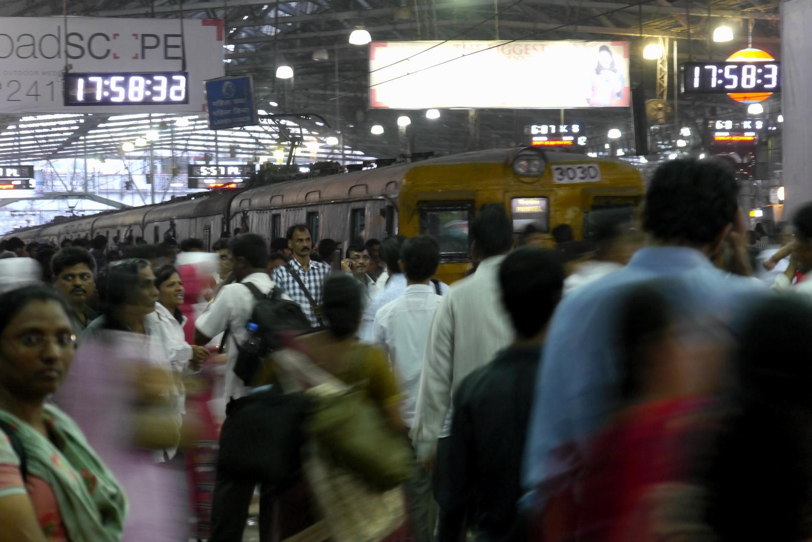 Chhatrapati Shivaji Terminus (ehemals Victoria Terminus)