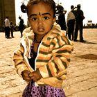 Chic gemacht, um auf den Strassen Bombays zu betteln