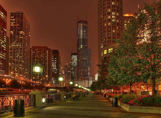 Chicago bei Nacht I