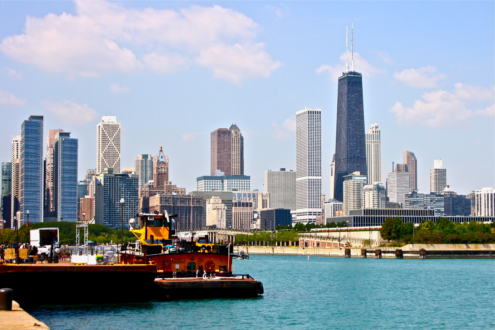 Chicago seen by Navy Pier