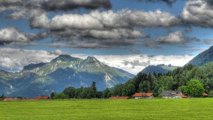 Chiemgauer Bergblick