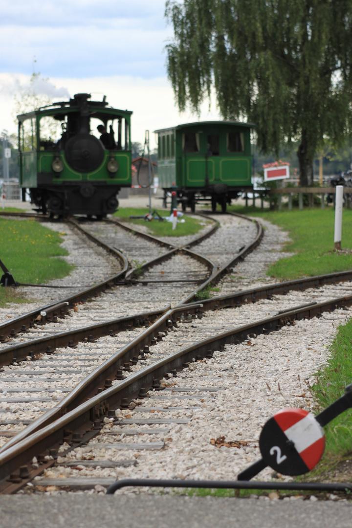 Chiemsee- Bahn in Prien