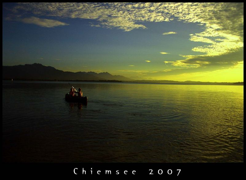 Chiemsee Boattrip
