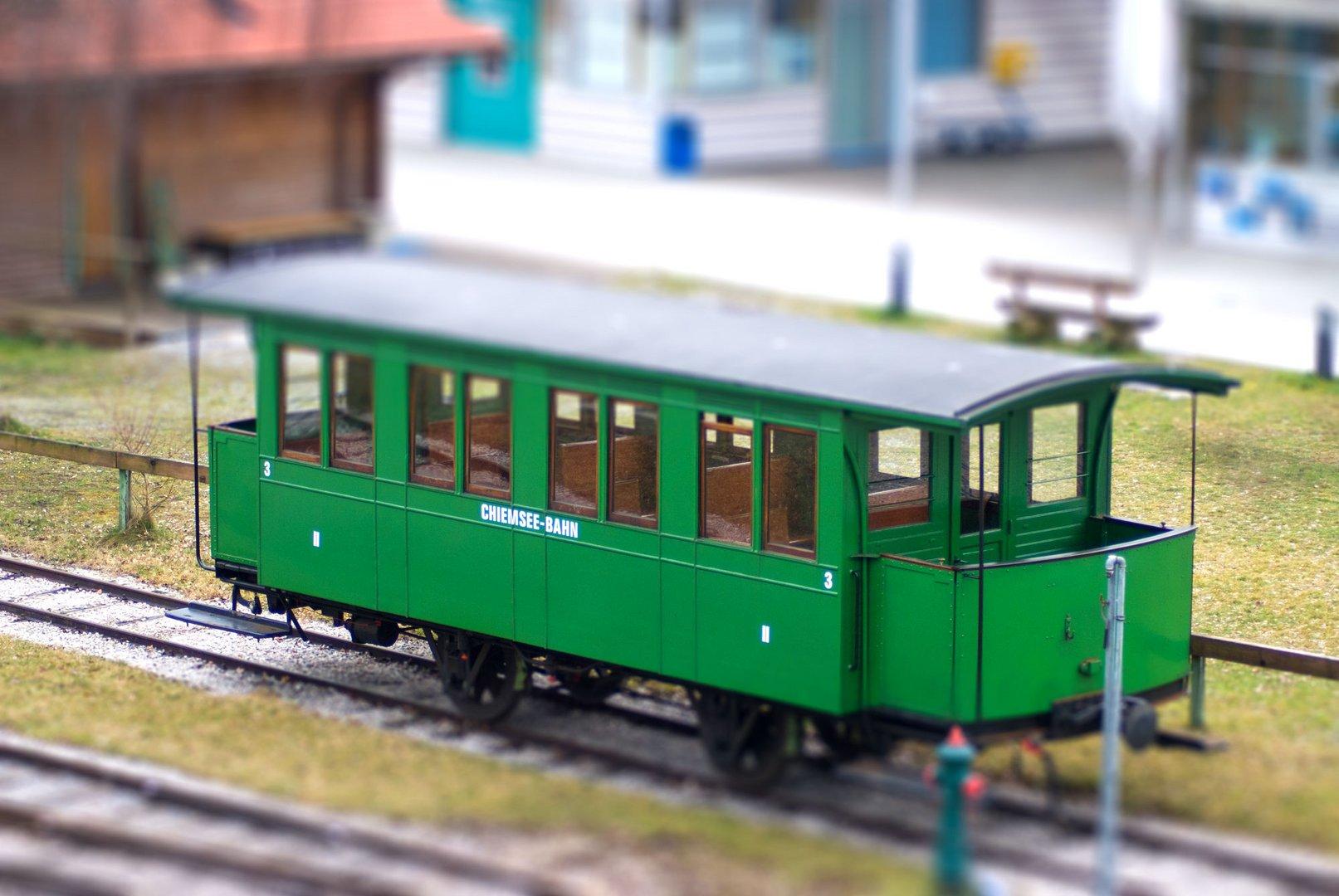 Chiemsee-Modellbahn