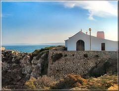 Chiesa ...... isola del Baleal.