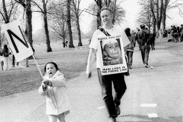 child against the war ..