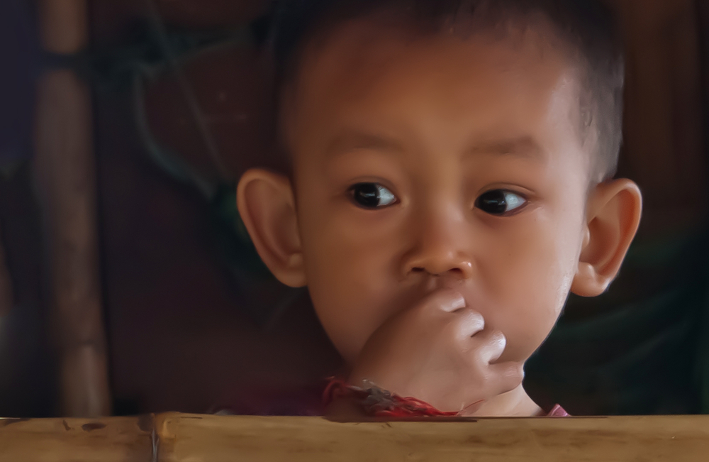 Child from Mekong