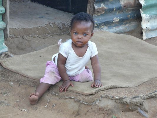 Child in a location