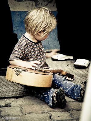 Child of an rock-musician