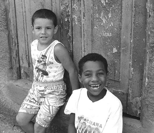 Children from Brasil