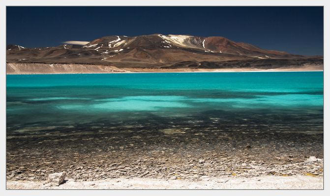 Chile - Laguna verde am Paso San Francisco