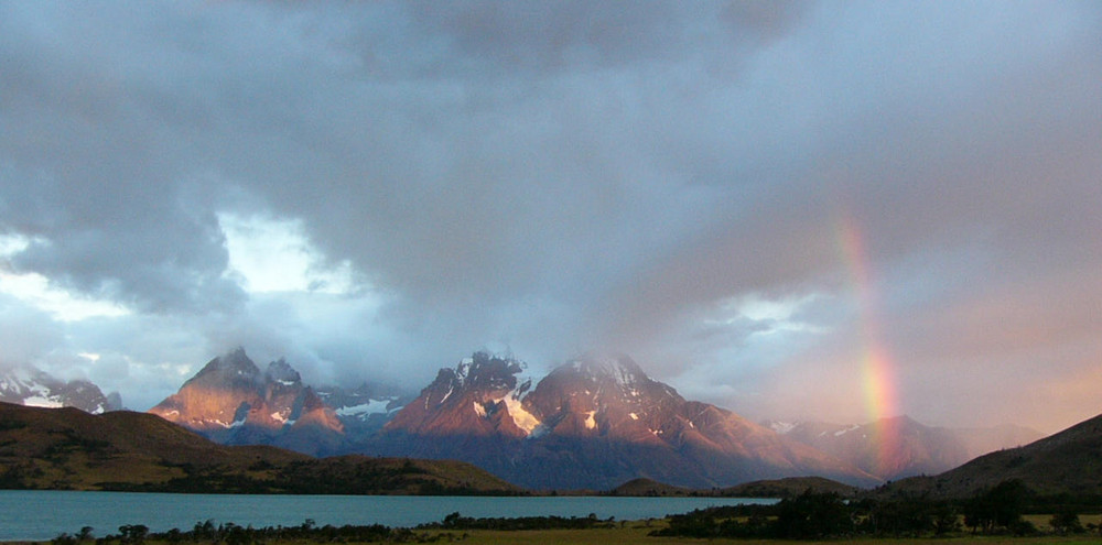 Chile: Sonnenaufgang im NP Torres del Paine