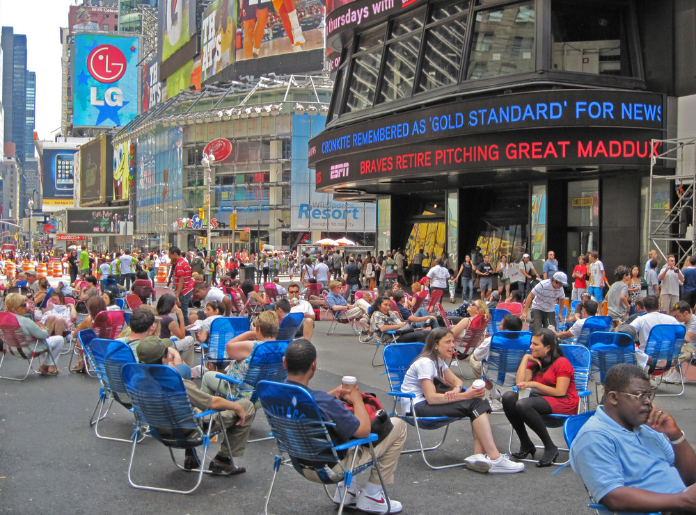 Chill out in New York
