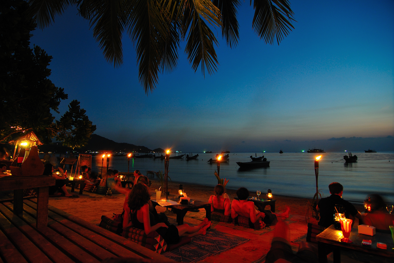 Chill-Out, Sairee Beach, Koh Tao, Thailand
