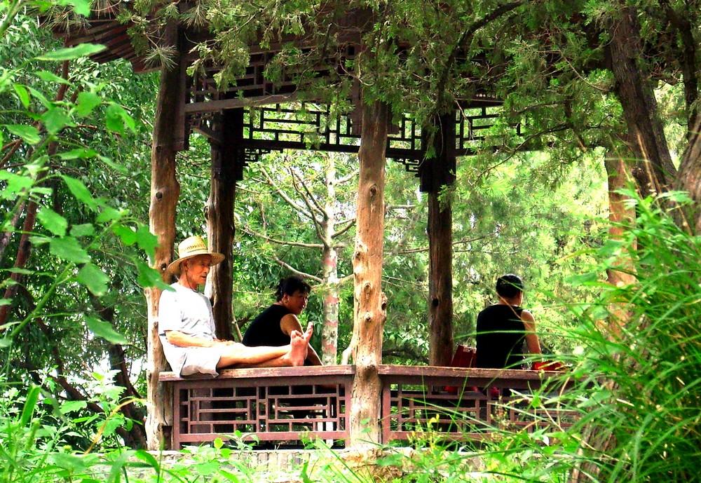 Chillen im Beihai-Park