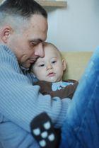 Chillen mit Papa