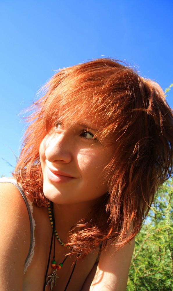 chillin' in the sun