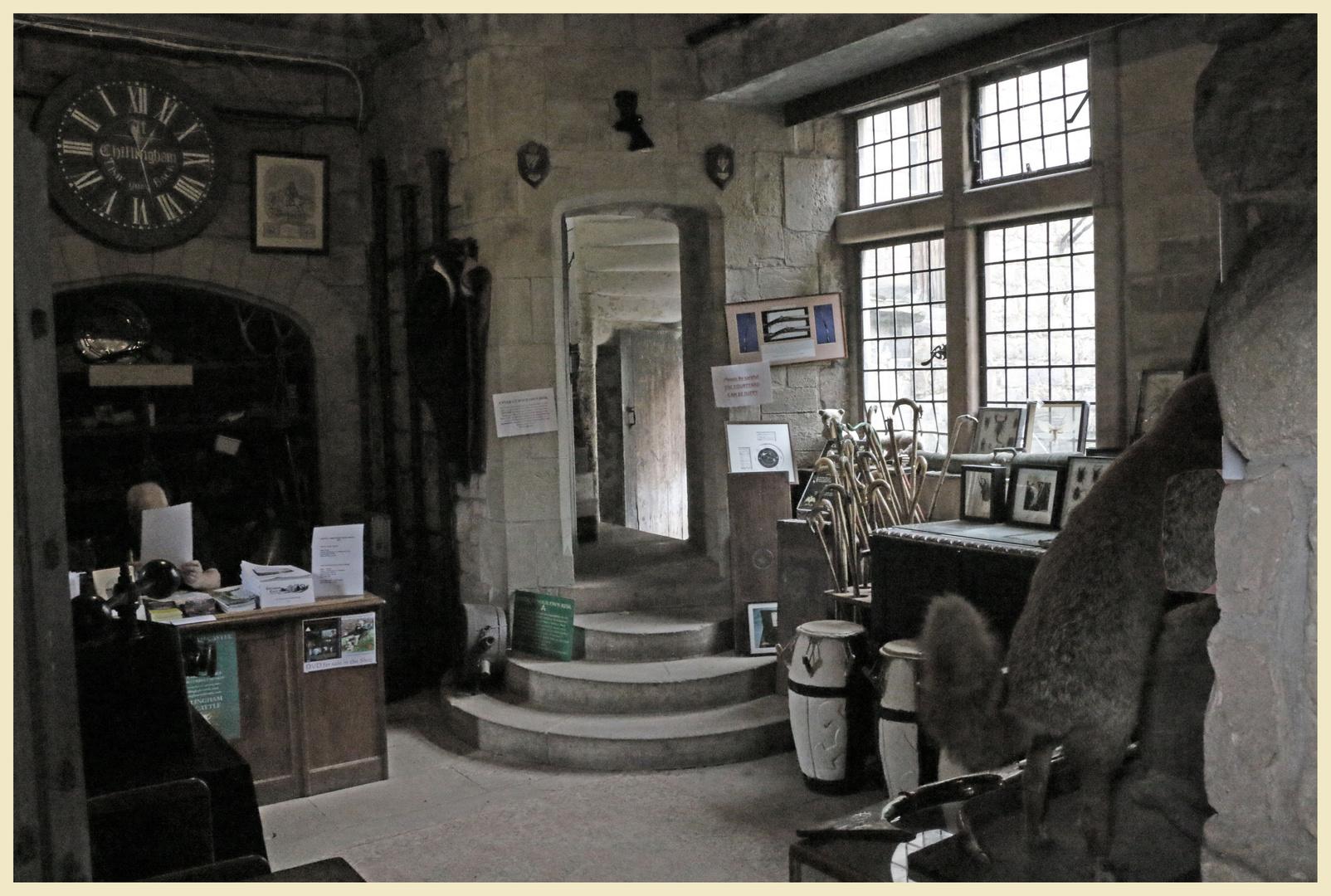 Chillingham castle entrance room 1b