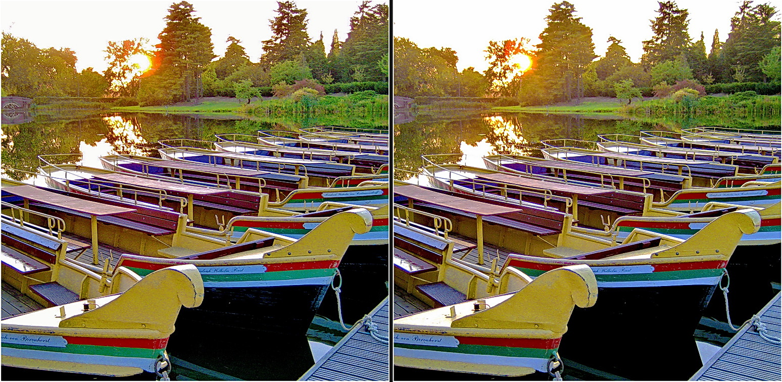 chillout in the park (cross-view-stereo)