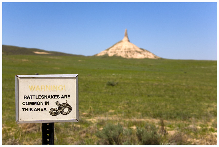 Chimney Rock, Nebraska, oder...