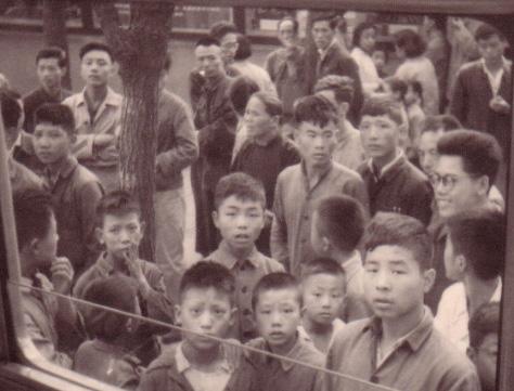 CHINA 1964 Menschen - ihre Gesichter (1)