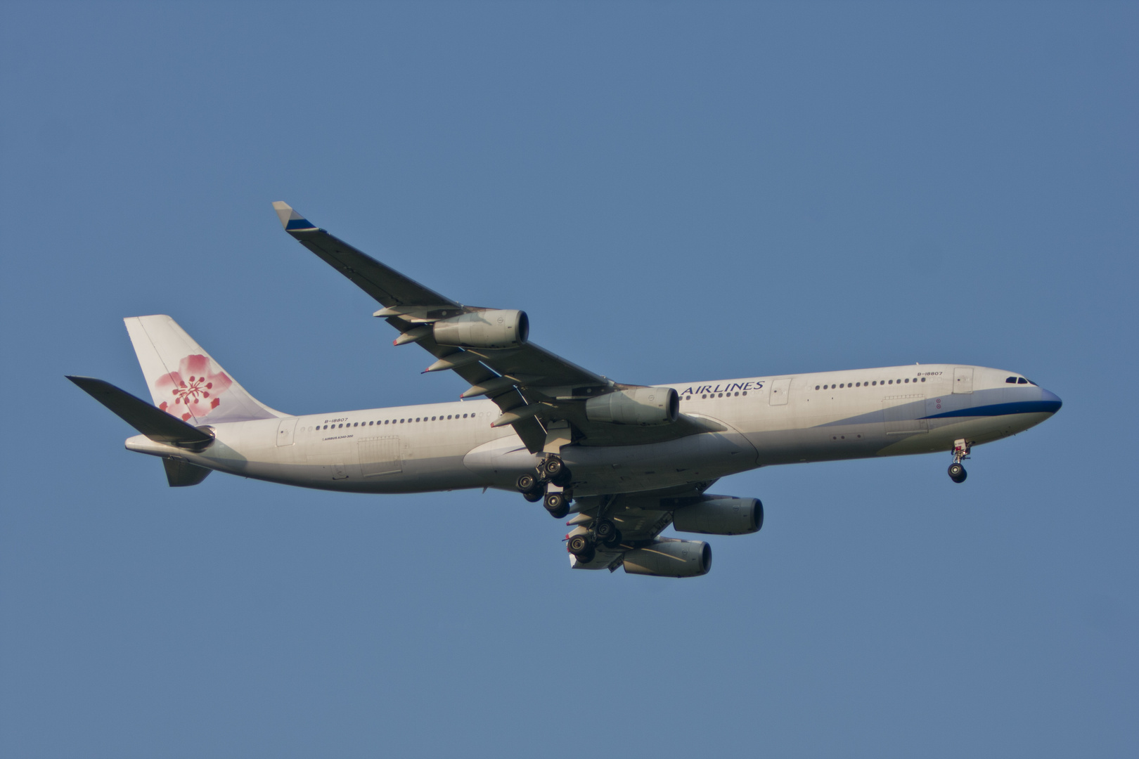China Airlines Airbus 340-313