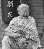 CHINA CON ABANICO -XIAN