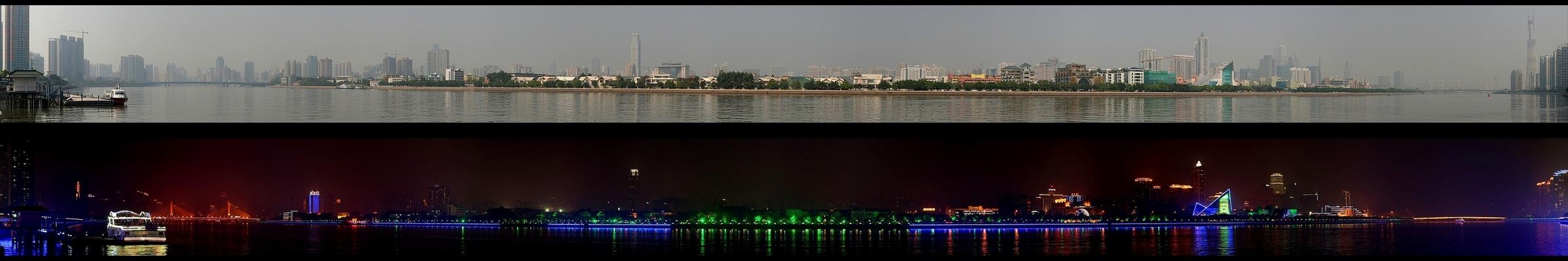 China: Day vs. Night