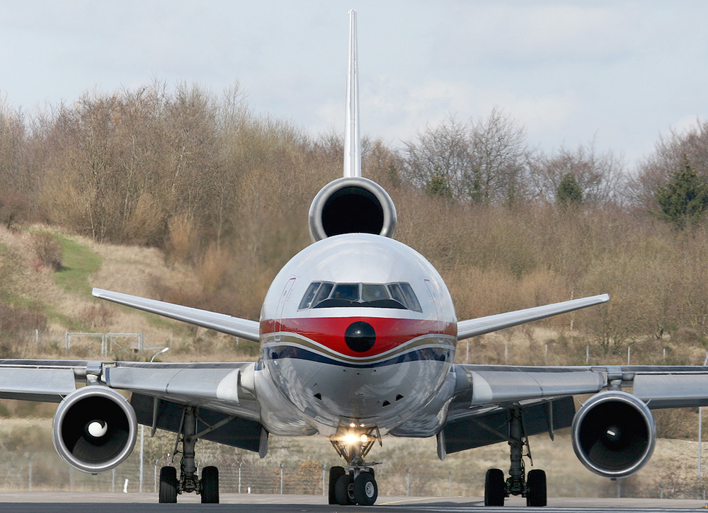China Eastern Cargo MD11 in LUX