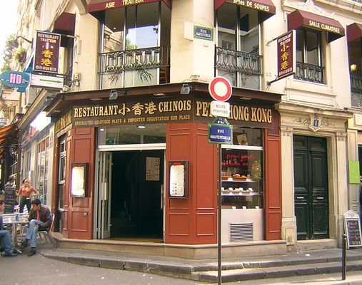 China-Restaurant an der Seine in Paris