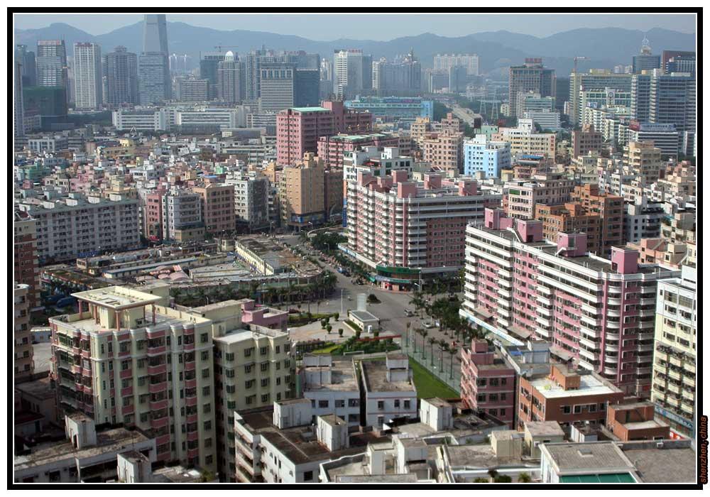 China - Shenzhen, bei Tag